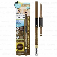 K-Palette - Lasting 3 Way Eyebrow Pencil (#01 Light Brown)