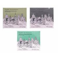 too cool for school Dinoplatz Dear Brachiosaurus blotting paper 3set(Mulberry paper, Green tea paper, Charcoal paper)