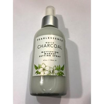 Pearlessence White Charcoal Mattifying Make Up Setting Spray 4 Oz