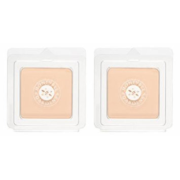 Honeybee Gardens Supernatural Pressed Mineral Powder Foundation (Pack of 2) with Certified Organic Goji Berry, Bamboo Powder and Rosemary Leaf Oil, Vegan and Gluten Free, 0.26 oz.