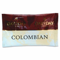 PapaNicholas Coffee Coffee, Single Pot Pack, 42/CT, Day To Day Colombian Blend Pot Pack - Caffeinated - Day To Day Colombian Blend - 42 / Box