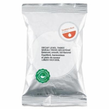 Seattles Best Coffee Level 3 Best Blend Ground Coffee - Decaffeinated - Medium - 18 / Box