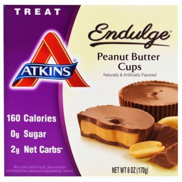 Atkins, Endulge, Peanut Butter Cups, 1.2 oz Each(pack of 3)