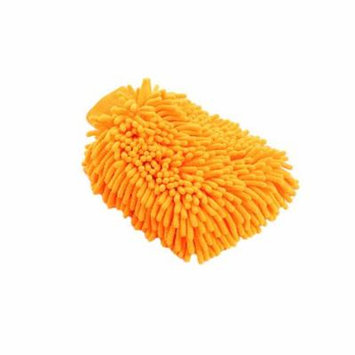 Jeobest 1PC Car Cleaning Glove Cloth - Microfiber Car Window Washing Home Cleaning Cloth Duster Towel Gloves MZ(yellow)