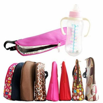 Girl12Queen Baby Thermal Feeding Milk Bottle Warmers Bag Hang Stroller Mummy Insulation Tote