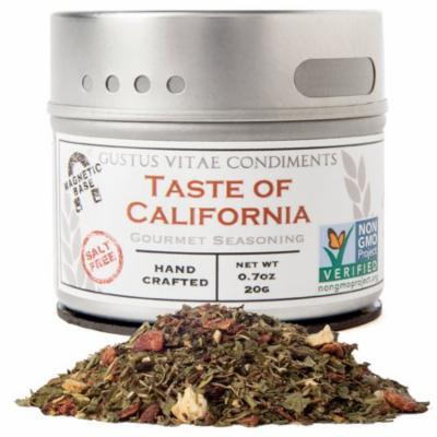 Gustus Vitae, Gourmet Seasoning, Taste of California, 0.7 oz (pack of 1)