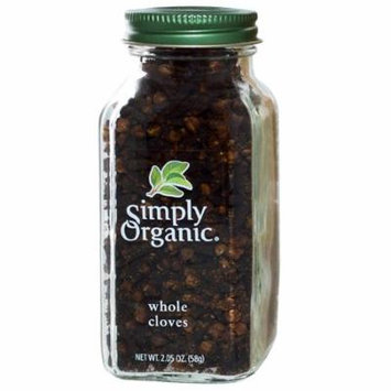 Simply Organic, Whole Cloves, 2.05 oz (pack of 12)