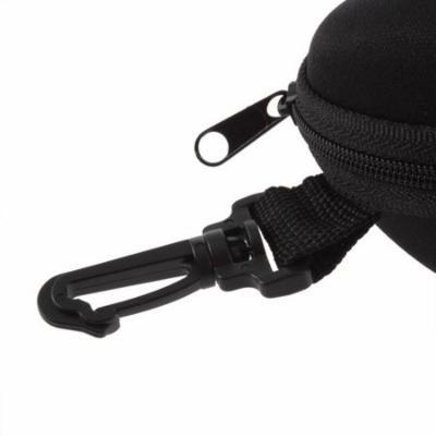 Protable Super Pressure Resistance Zipper Clam Hard Case Box Eye Glasses Shell Cover Pouch Bag Sunglasses
