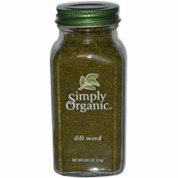 Simply Organic, Dill Weed, 0.81 oz (pack of 12)