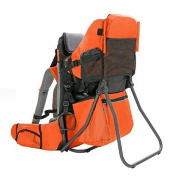Clevr Cross Country Lightweight Toddler Baby Backpack Hiking Child Carrier, Orange