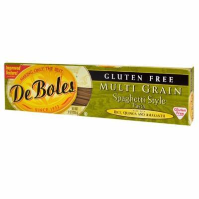 DeBoles, Gluten Free, Multi Grain Spaghetti Style Pasta, 8 oz (pack of 1)