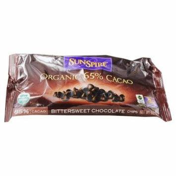 SunSpire - Organic 65% Cacao Bittersweet Chocolate - 9 oz. pack of 4