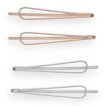 LC Lauren Conrad Metallic Hair Clip Set