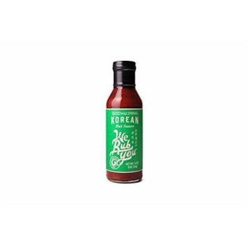 We Rub You Gochujang Korean Hot Sauce 15 oz each (6 Items Per Order, not per case)