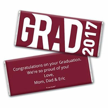 Graduation Personalized Chocolate Bar Wrappers -