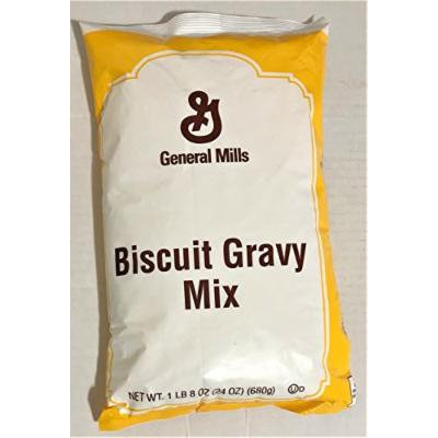 24oz General Mills Biscuit Gravy Mix, Makes 1.25 Gallon, Pack of 1