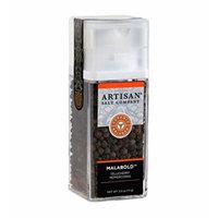 Malabold Tellicherry Whole Black Peppercorns - Artisan Grinder Jar - 2.5 oz.