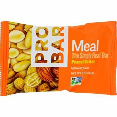 Probar 1081496 Organic Peanut Butter Bar, 3 oz - Case of 12
