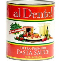 al Dente Ultra Premium Pasta Sauce, 6-pound 9-ounce No. 10 Can (Pack of 6)