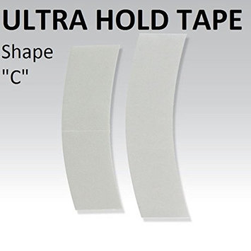 Ultra Hold Tape Shape C 36-pieces per bag Double side adhesive