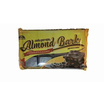 Log House Chocolate Flavored Almond Bark 24 oz Package