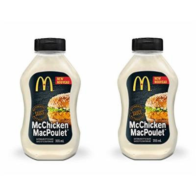 Mcdonald's Sauce - 2 pack ( 355ml/12.00 Ounces each) {Imported from Canada} (Mc Chicken)