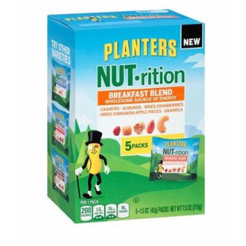 Planters Nut-Rition Mix Breakfast Blend 7.5 oz.