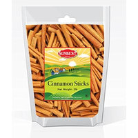 Sunbest Whole Cinnamon Sticks , 3'' Inch Length in Resealable Bag , % 100 Raw From Indonesia -Non Gmo-Vegan &Kosher -32 Ounce (2 Lb)