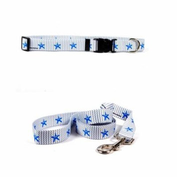 Yellow Dog Design Starfish Baby by Ellen Crimi Trent Standard Collar & Lead Set