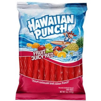Hawaiian Punch Licorice Twists Fruit Juicy Red