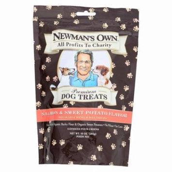 Newman's Own Organics Salmon And Sweet Potato Treats - Organic - Pack of 6 - 10 Oz.