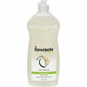 Citrasolv Citradish Natural Dish Soap Lemon Verbena - 25 Fl Oz - Pack of 12