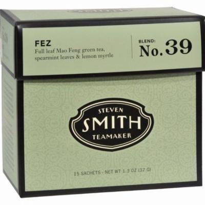 Smith Teamaker Green Tea - Fez - Pack of 6 - 15 Bags