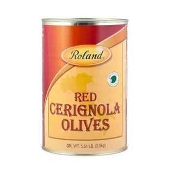Roland Red Cerignola Olives 5.5 Lb (2 Pack)