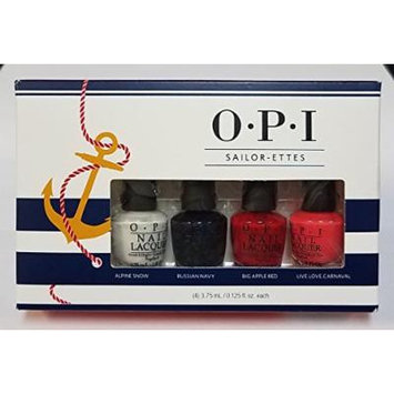Sailor-Ettes Mini Nail Lacquer Set of 4