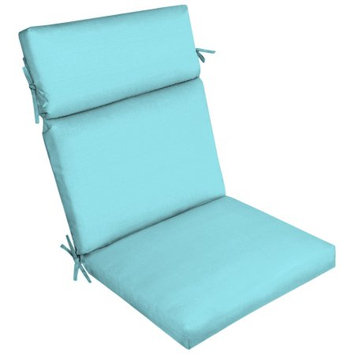 Arden Companies Better Homes and Gardens Outdoor Patio Dining Chair Cushion, Bleached Teal Texture