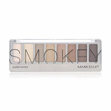 Marcelle Smokey Eyeshadow Palette, Warm Nudes, 8.3 Gram