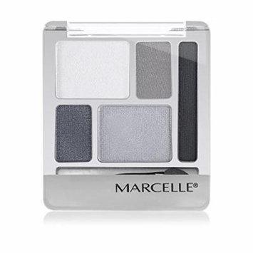 Marcelle Quintet Eyeshadow, Steel Smoke, 5.6 Gram