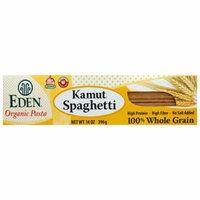 Eden Foods, Organic Pasta, Kamut Spaghetti, 100% Whole Grain, 14 oz (pack of 2)