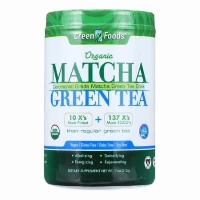 Green Foods Organic Matcha Green Tea - 11 Oz