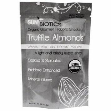 Sunbiotics, Organic Gourmet Probiotic Snacks, Truffle Almonds, 1.5 oz(pack of 12)