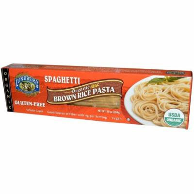 Lundberg, Organic, Brown Rice Pasta, Spaghetti, 10 oz (pack of 4)