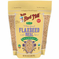 Bob's Red Mill, Organic Whole Ground Flaxseed Meal, 32 oz (pack of 4)