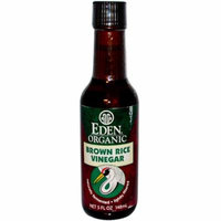 Eden Foods, Organic Brown Rice Vinegar, 5 fl oz (pack of 2)