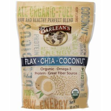 Barlean's, Flax-Chia-Coconut Blend, 12 oz (pack of 4)
