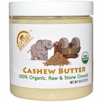 Dastony, 100% Organic, Cashew Butter, 8 oz (pack of 4)