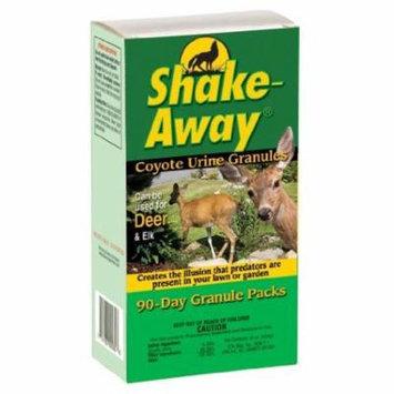 Shake Away 7007550 Coyote Urine Granules, 4-Ounce