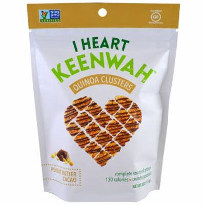 I Heart Keenwah, Quinoa Clusters, Peanut Butter Cacao, 4 oz (pack of 1)