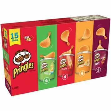 Pringles® Sour Cream & Onion, The Original, Cheddar Cheese & BBQ Potato Crisps Variety Pack