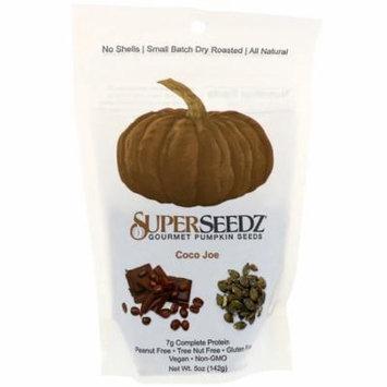 SuperSeedz, Gourmet Pumpkin Seeds, Coco Joe, 5 oz (pack of 12)